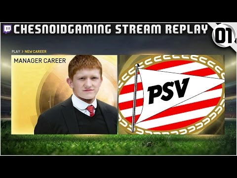 [NEW SERIES] FIFA 15 | Twitch Career Mode Ep1 - PSV!!