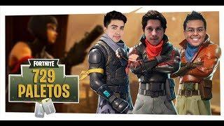 Fortnite | ¡Squads con los Paletos Crew en VIVO!