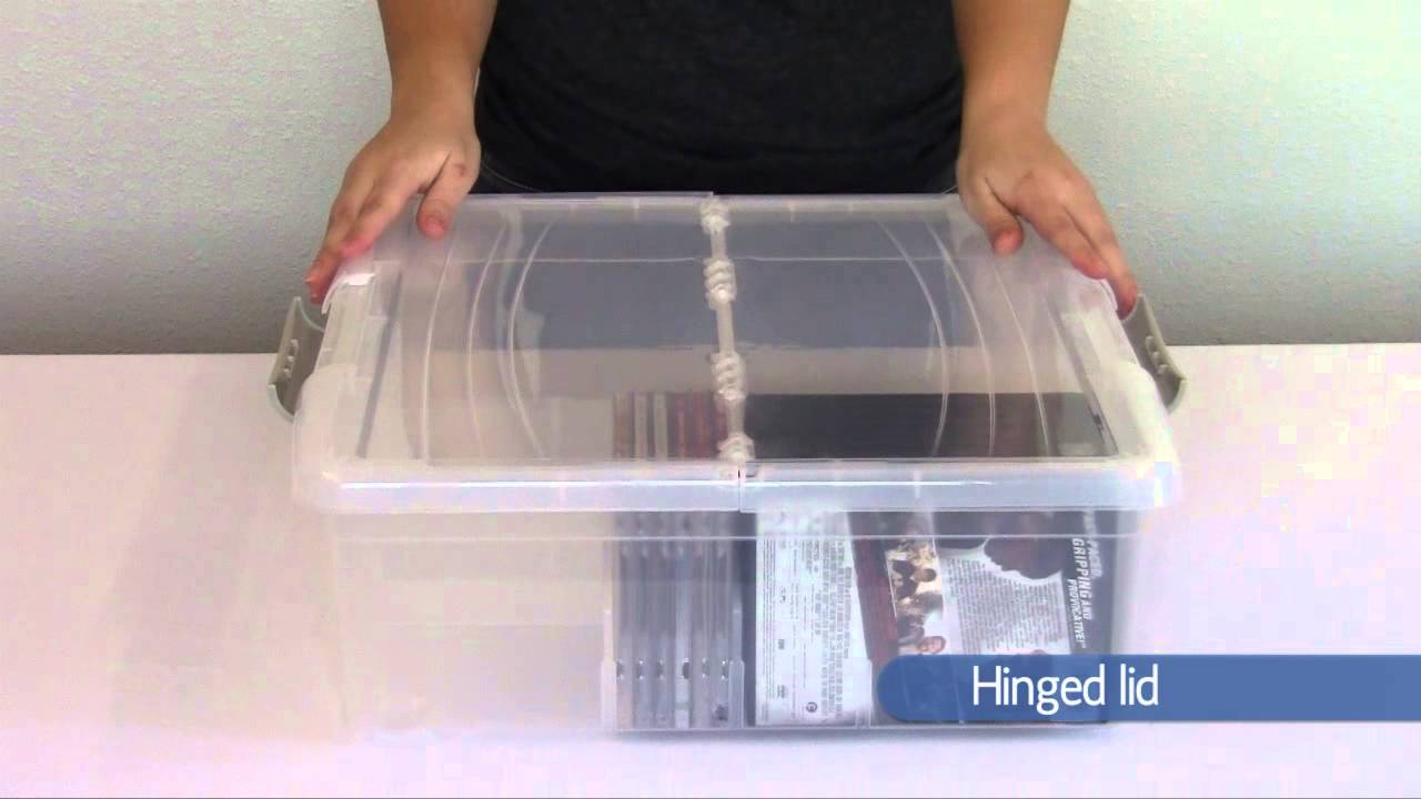 Attrayant Iris Large Media Box