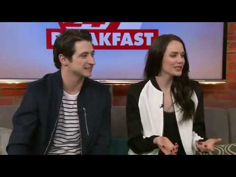Tessa Virtue and Scott Moir CP24 Breakfast Interview