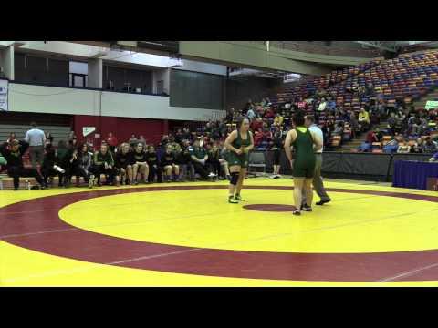 2015 Canada West Championships: 82 kg Dakoda Sinclair vs. Marlen Figueroa