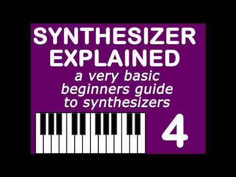 🎹⁉️ Synthesizer Explained 4: monophonic and polyphonic
