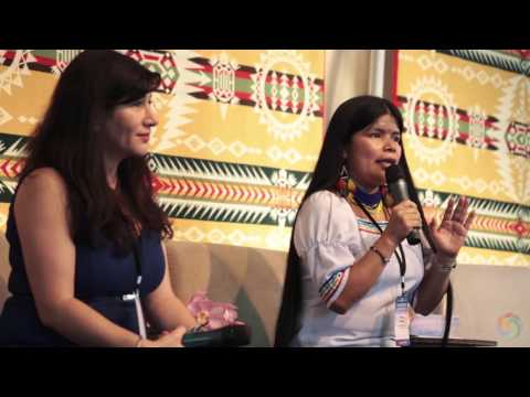 Patricia Gualinga & Atossa Soltani - Indigneous Women on the Frontlines: From the South | Bioneers