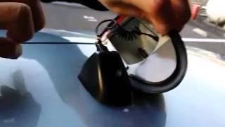 Repeat youtube video ビートソニック製のドルフィンアンテナを取付けてみました