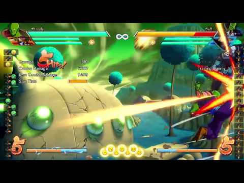 DBFZ Bardock - double super with Piccolo dhc