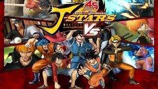 J Stars Victory VS - Un Battle Royal Manga !