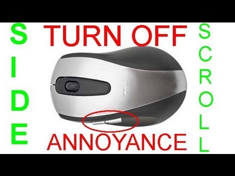 How to turn off mouse side buttons
