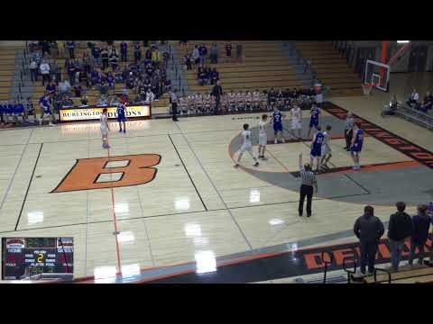Burlington Vs. West High School Varsity Mens' Basketball