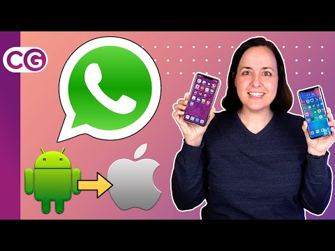 Así Puedes PASAR WHATSAPP De Android A IPhone O De IPhone A Android | ChicaGeek