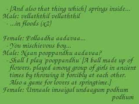 Crazy Indian Music - Kalluri Vaanil: Lyrics & Translation