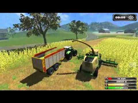 Thumbnail: Farming Simulator 2011 Multiplayer Silage 2