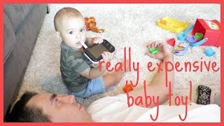 Really Expensive Baby Toy! | TheGracefulLife
