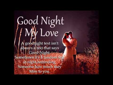 Good night  my love Quotes Pictures, Photos, Images, and Pics for