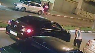 תיעוד: צעיר נורה למוות באמצע הרחוב בגלל חוב כספי