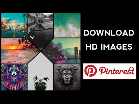 HOW TO DOWNLOAD HD IMAGES FROM PINTEREST