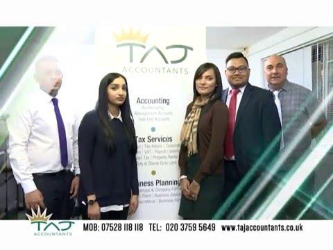 Taj Accountants | Small Business Accountants | Accountant London | East London