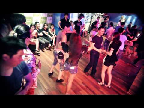 Jin(aka The Dancer) Salsa Dancing in Korea & Japan Salsa Festival