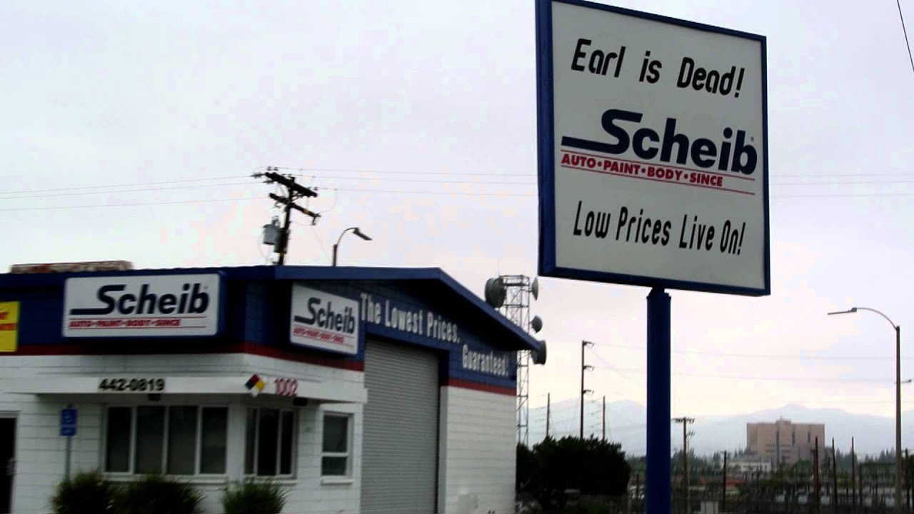 Earl Is DEAD Low Prices Live on Earl Scheib Auto Body Repair ill