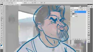 Tim Michael- Tutorial / How To Sketch a Caricature