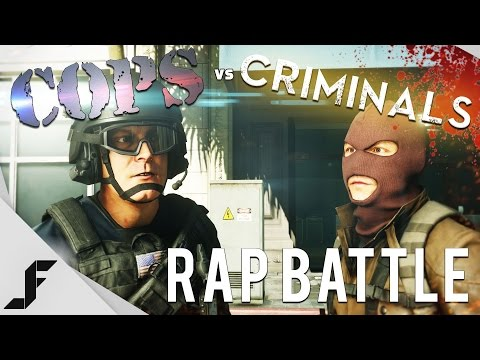 Battlefield Hardline Rap Battle - Cops vs Criminals
