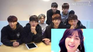 VICTON Reaction to SNSD PARTY MV