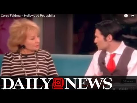 Corey Feldman talked Hollywood abuse with Barbara Walters in 2013