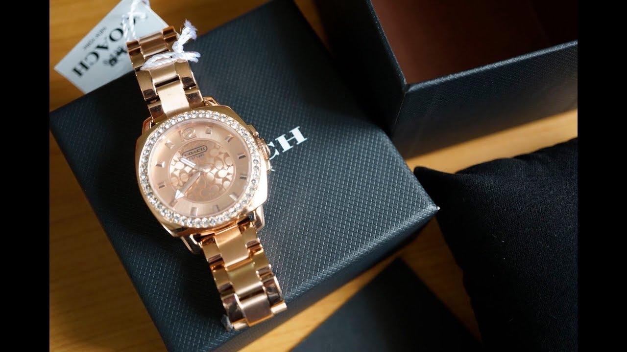 รีวิวนาฬิกา COACH นาฬิกาข้อมือผู้หญิง รุ่น 14501702 ของแท้จาก USA.