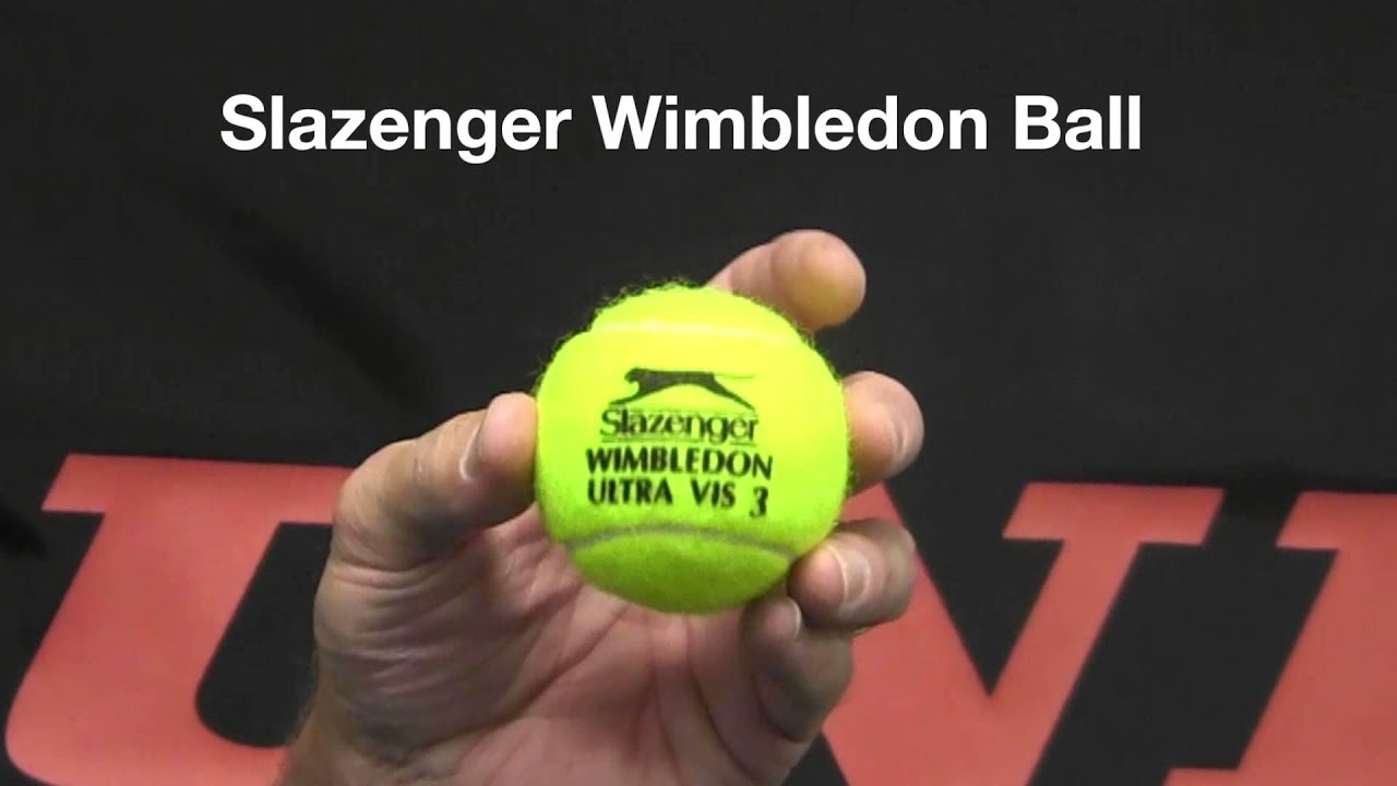 Tennis Ball Review Dunlop Tennis Balls Youtube