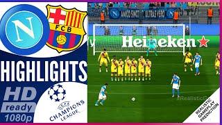 Full match napoli vs barcelona 1-1 resumen highlights 02/25/2020 champions league uefa 25/02/2020 ucl season 2020 | ...