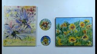 Ծաղիկներ ու բնապատկերներ  բացվել է Լիլիթ Տոնականյանի անհատական ցուցահանդեսը