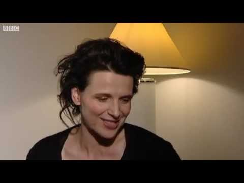 Five Minutes With Juliette Binoche.