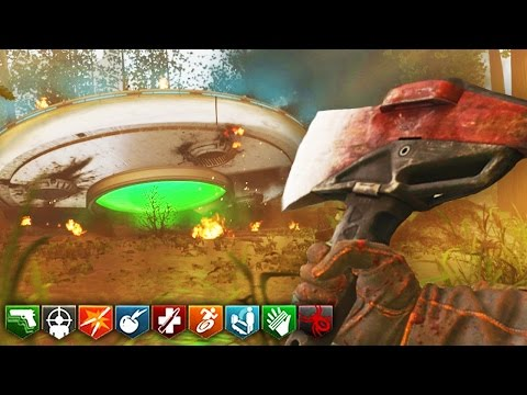 OPEN WORLD FOREST ZOMBIES MADE BY TREYARCH DEV w/ CRASHED UFO! (Black Ops 3 CUSTOM ZOMBIES)