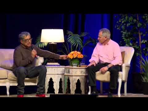 Deepak Chopra in conversation with Jon Kabat-Zinn