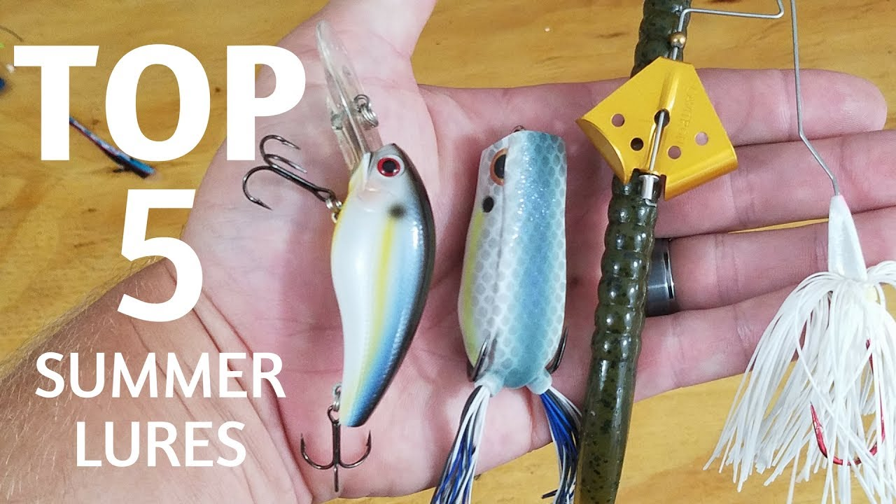 best lures for bass in summer