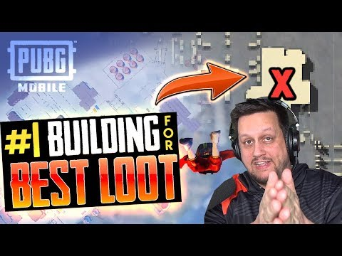 THE #1 BUILDING FOR BEST LOOT in PUBG MOBILE