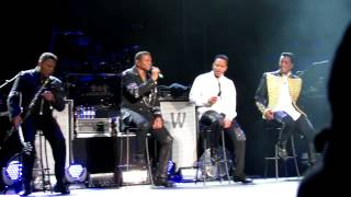 The Jacksons Time Waits for No One live at Manchester Apollo 27th February 2013 Unity Tour