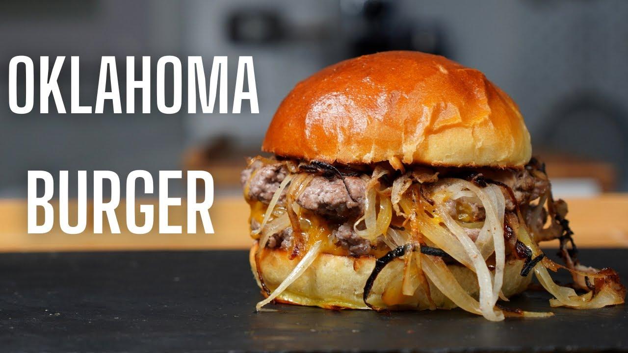 Download L'OKLAHOMA BURGER -- LE SMASH BURGER AUX OIGNONS -- FOOD IS LOVE