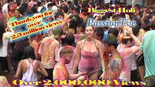 Holi Festival of Colors celebration Singapore HD | The PassionTve