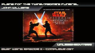 Star Wars: Episode Iii Ost - Plans For The Twins/padme's Funeral