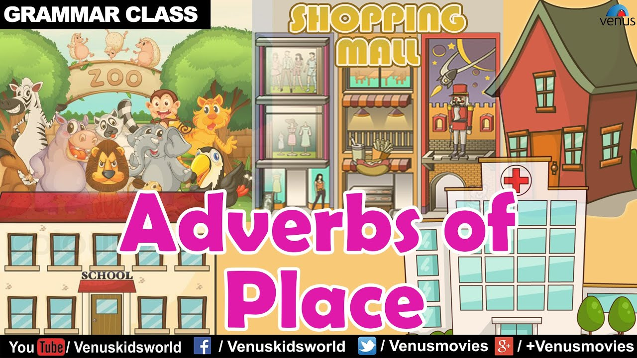 Adverbs Of Place Grammar Class Youtube