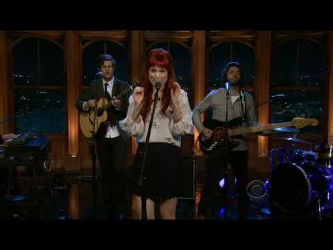 A Fine Frenzy - Blow Away (Late Late Show)