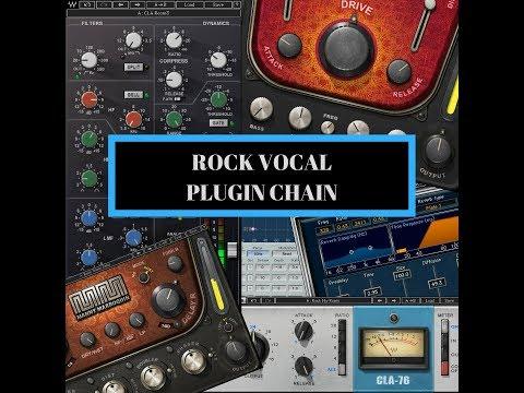 Rock Vocal Plugin Chain