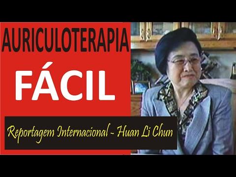 Reportagem com a Huang Li Chun - Auriculoterapia