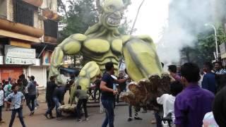 Narkasur Dahan 2015 Goa