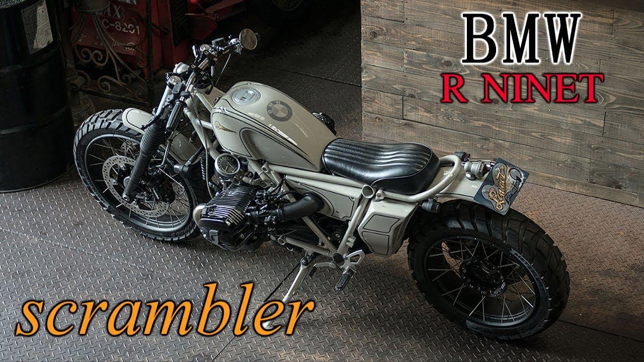 Bmw R Ninet Scrambler Custom Youtube