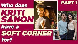 Does Kriti Sanon keep a watch on Sara Ali Khan?😳