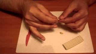 Лепка из пластилина: Колобок (урок 1)