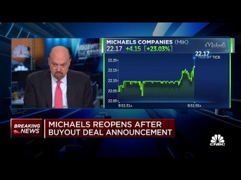 Michaels halted after buyout deal announcement