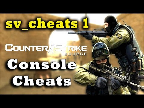 Counter-Strike: Source Console Cheats