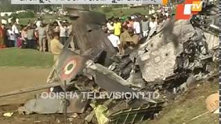 IAF plane crashes on Odisha Jharkhand border